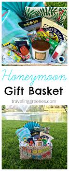 honey moon gifts honeymoon gift basket traveling greenes