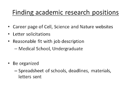 from postdoc to first academic position ppt video online download