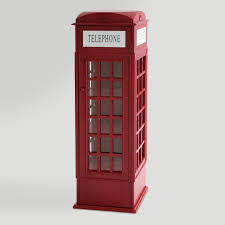 london phone booth bookcase phone booth cabinet world market
