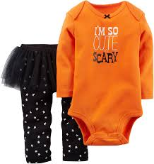 amazon com carter u0027s baby girls u0027 halloween bodysuit u0026 tutu pant