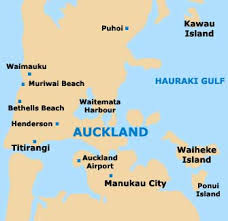 map world nz auckland travel guide and tourist information auckland