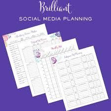 the brilliant business planner printable u2013 brilliant business moms