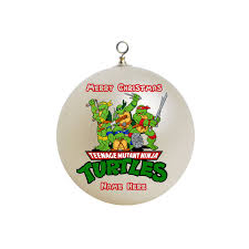 teenage mutant ninja turtles christmas ornament custom gift 6