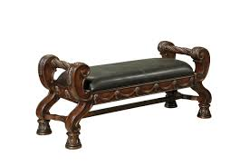 Clearance Bedroom Furniture Shore Bench In Dark Wood Clearance