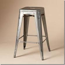 Industrial Metal Bar Stool The Look For Less Industrial Style Metal Bar Stools The Shabby