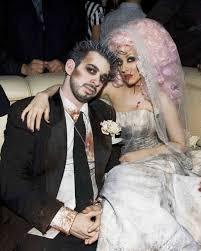 15 celebrities who went bridal for halloween martha stewart weddings