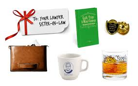 gifts for your lawyer sister in law