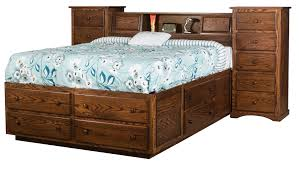Amish Bedroom Furniture Mission Style Amish Oak Bedroom Furniture Sets Amish Monterey Solid Oak Shaker