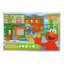 amazon com sesame street table topper disposable stick on