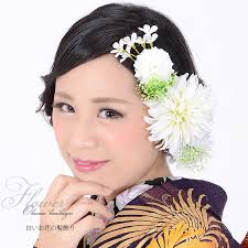 japanese hair ornaments kyoto kimonomachi online shop furisode kimono hair ornament white