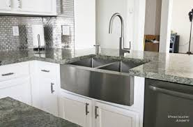 what is a farmhouse sink diy white kitchen stainless farmhouse sink wm jpg 1600 1055