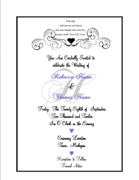 what to put on a wedding invitation what to put in wedding invitations what to put on a wedding