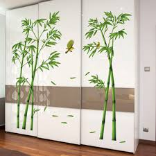 online get cheap vinyl tree decal aliexpress com alibaba group 2pcs 3d wall stickers large size bamboo birds tree diy vinyl removable decals home living room