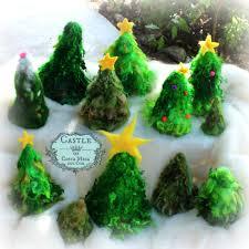 needle felted christmas trees monday morning november 10 2014