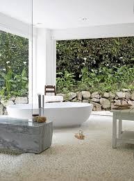 hunting bathroom decor crystal chandelier above white bathtub