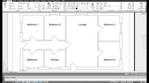 autocad tutorial best complete house plan in autocad 2d autocad tutorial youtube 2d