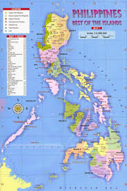 World Map Of Asia by Maps Of Philippines Detailed Map Of Philippines In English
