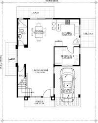 ground floor plan carlo 4 bedroom 2 story house floor plan home design