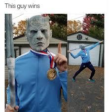 White Walker Meme - olympic game of thrones memebase funny memes
