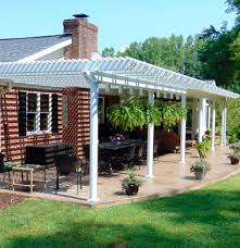 Solid Roof Pergola Kits by Gallery Of Pergolas U0026 Patio Covers Asheville Nc Air Vent Exteriors