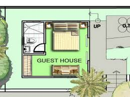 bedroom guest house floor plans modern design ideas for and images