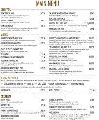 Apple Barn Restaurant Prices Menu At The Highbury Barn 26 Highbury Park Restaurant Prices