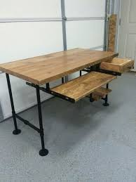 Rustic Desk Ideas Best 25 Wood Computer Desk Ideas On Pinterest Building A