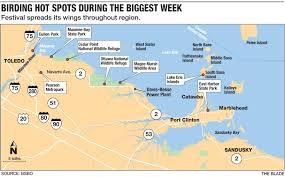 Map Of Ohio State Parks by Birders Bringing Economic Boom To Northwest Ohio