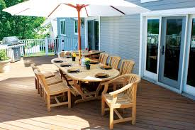 modern teak patio furniture with 6 seaters wood patio furniture
