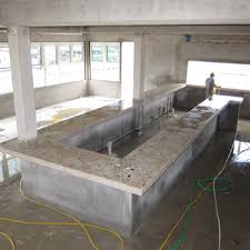 How To Make A Concrete Bench Top Cast In Place Concrete Countertops Blog