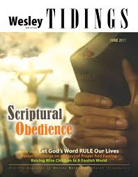 wesley tidings newsletter june 2017 by wesley methodist church