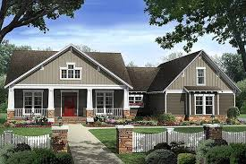 craftsman cottage style house plans craftsman style house plan 4 beds 2 50 baths 2400 sq ft plan 21 295