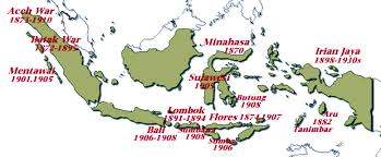 netherlands east indies map indonesia chronology 1830 to 1910 imperialism and modernisation
