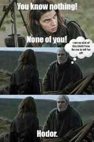 Hodor Meme - i m crying hodor hold the door game of thrones pinterest the
