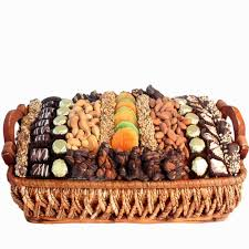 fruit and nut gift baskets israeli chocolate dried fruit nut basket israel only gift