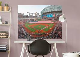 houston astros minute maid park behind home plate mural wall
