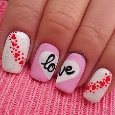 best valentines day nail art of instagram popsugar beauty love