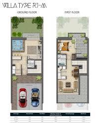 floor layout plans damac hajar villas floor plans