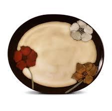 painted platter oval platter pfaltzgraff
