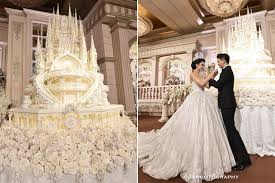 8 mind blowing celebrity wedding cakes for some major