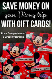 gift cards for less how we saved money by booking a disney vacation with gift cards
