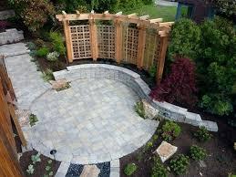 Patio Design Ideas With Pavers  Smashingplatesus - Backyard paver designs