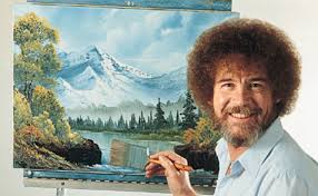 Painter Meme - here s why it s so calming to watch bob ross the joy of painting
