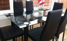 black dining room table sets table decoration ideas