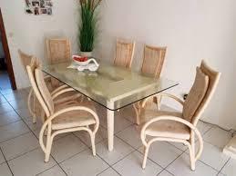 esszimmer sitzgruppe rattan esszimmer tisch mit 6 sthle in hessen friedberg attraktive