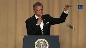 Obama Sunglasses Meme - obama s best jokes from last white house correspondents dinner ny