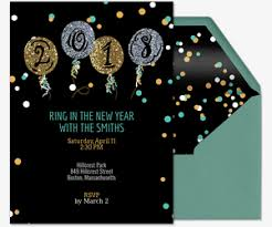 new year invitation new year party 2018 invitation festival collections