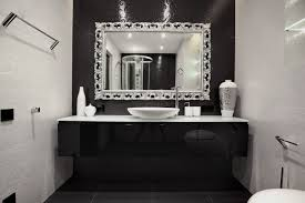 ideas about mint green regarding elegant black and white bathroom