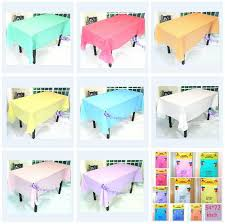 party table covers solid tablecloth black gold white table cloth disposable buffet