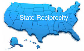 Pa Carry Permit Reciprocity Map Insurance Adjuster License Reciprocity